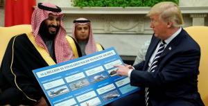 ما الذي أضحك محمد بن سلمان من كلام ترامب؟
