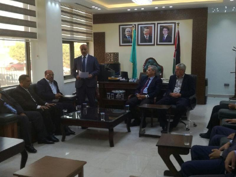 الدكتور ضياء الدين عرفة يؤكد : حق جامعة ال البيت مقدس وهيبتها من هيبة  المؤسسات التعليمية الاردنية