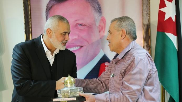 """وسائل إعلام فلسطينية: الزيارة الأولى له للأردن  ..  """"إسماعيل هنية"""" في عمان خلال الأيام القادمة"""