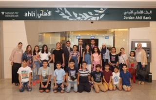 """البنك الأهلي الأردني يدعم برنامج """"بناء المهارات المالية للأطفال"""""""