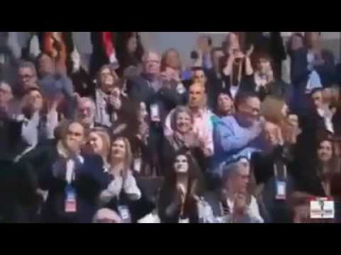 """ترامب : """"انا احب اسرائيل"""" ..  ومناهج الفلسطنيين ومساجدهم تحرض على الإرهاب """"فيديو"""""""