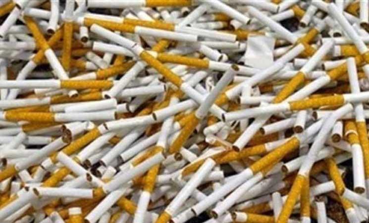 ارقام صادمة  ..  ضبط اكثر من مليون سيجارة مهربة أسفل شاي مستورد إلى إستراليا