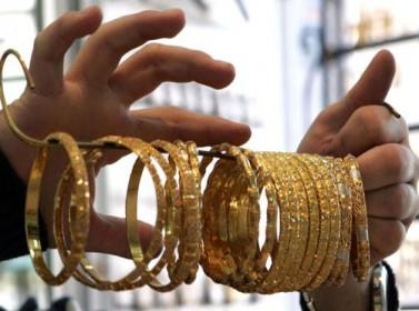 الذهب ينخفض دينارا للغرام في السوق المحلي