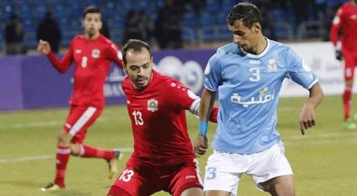 الجزيرة يجتاز الفيصلي ويقترب من نهائي كأس الأردن