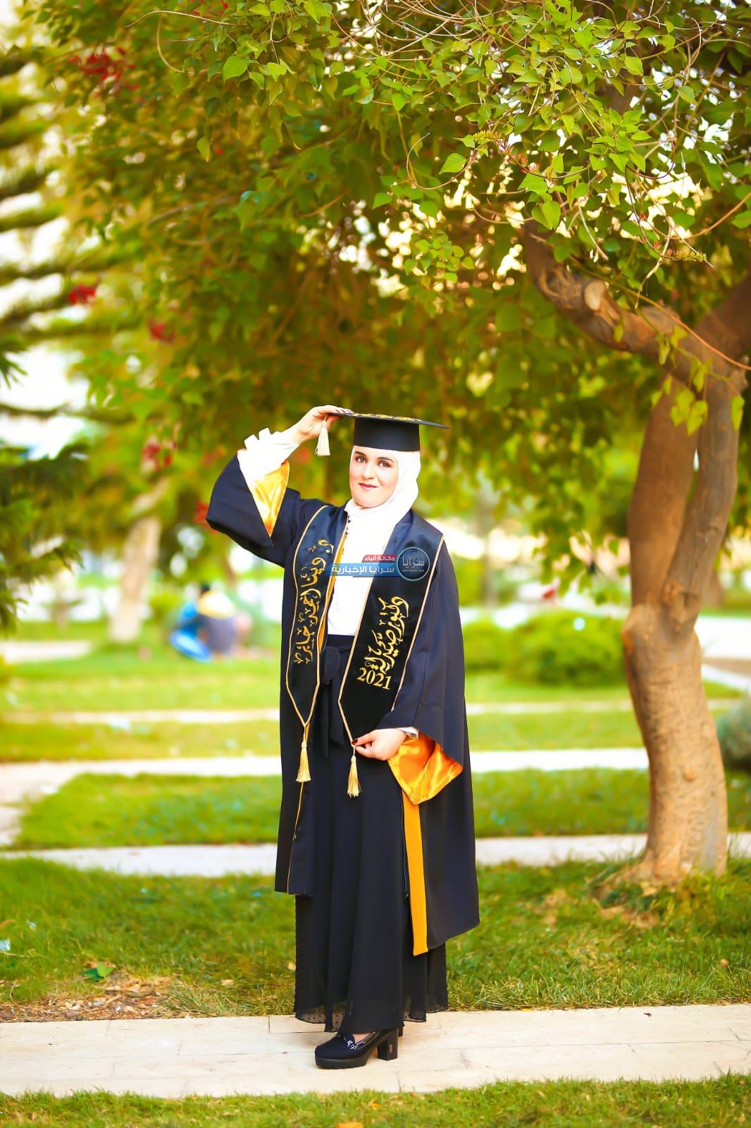 دينا أحمد جابر  ..  مبارك التخرج بإمتياز