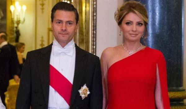 """تفكك """"العائلة الجميلة"""" ..  رئيس المكسيك يطلق زوجته الحسناء لهذا السبب"""