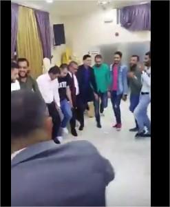 بالفيديو  :حفل زفاف الجندي المسرح أحمد الدقامسة في اربد