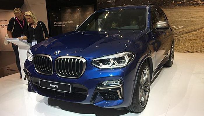 BMW X3 الجديدة لم تعد نقطة الضعف في قائمة الشركة بعد طرحها في فرانكفورت