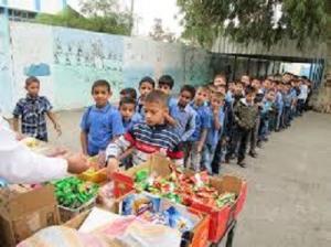 مواد منتهية الصلاحية في مقاصف مدرسية باربد واغلاق 65 منشأة غذائية
