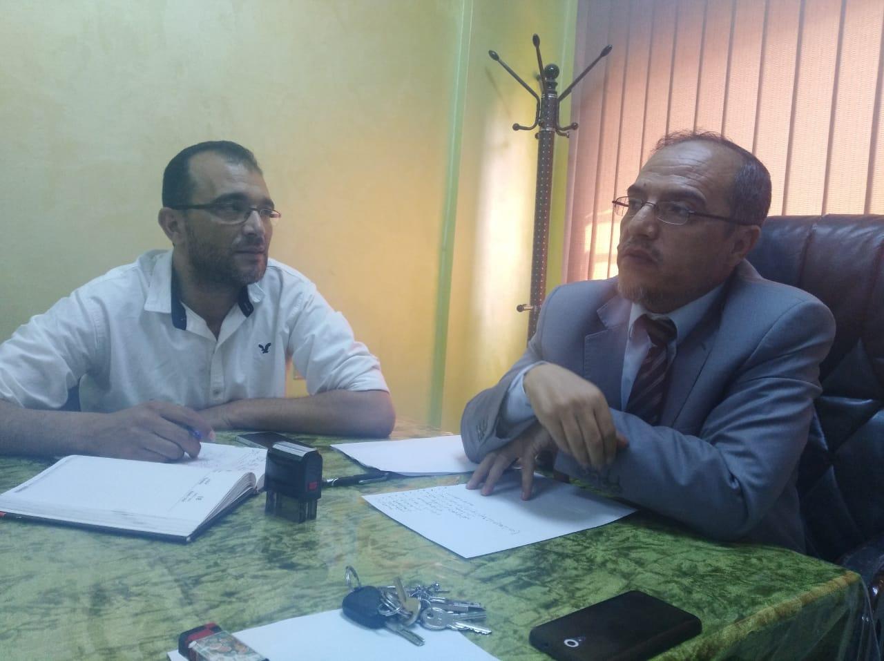 الشديفات يلتقي رؤساء الأقسام في مديرية تربية البادية الشمالية الغربية