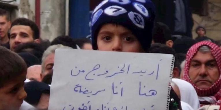 حلب  ..  لم يبق من طعامهم سوى الفاصولياء