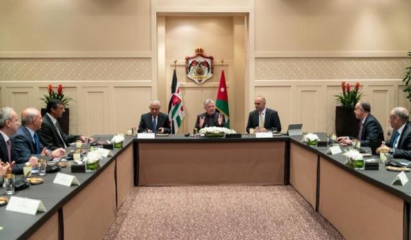 الملك: الأوروبيون مستعدون لمساعدة الأردن والوقوف إلى جانبه