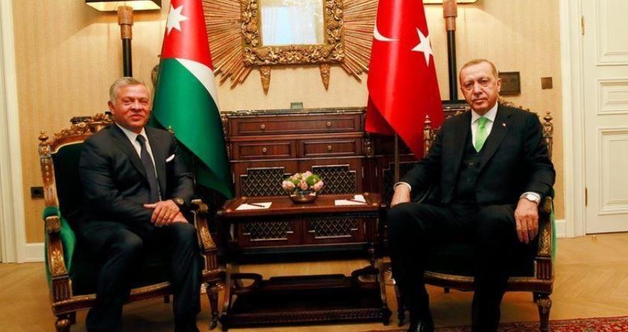 تركيا: استقرار و أمن الأردن من استقرار و أمن تركيا و ندعم بقوة الملك عبدالله الثاني