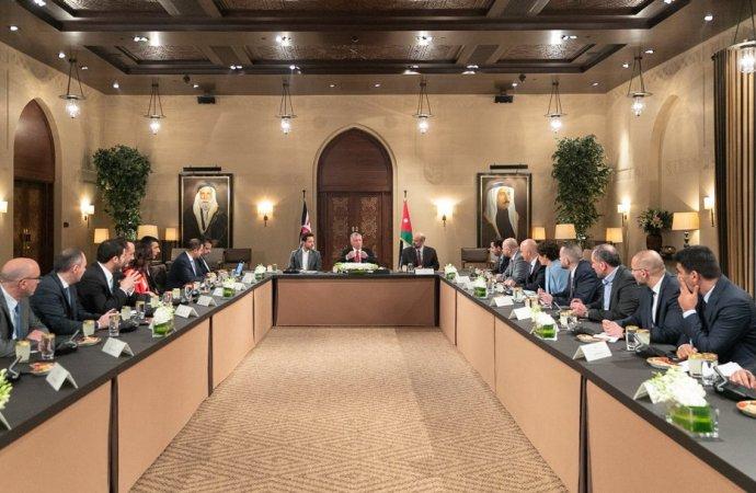 الملك يؤكد ضرورة توفير كل أشكال الدعم لقطاع ريادة الأعمال في الأردن
