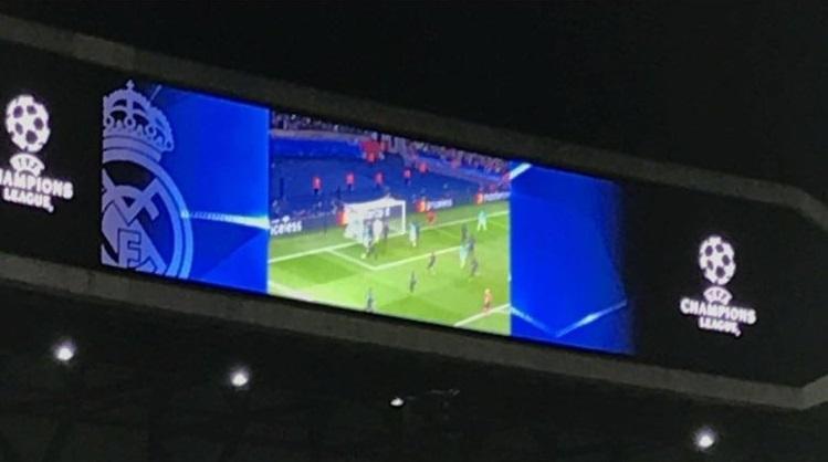 صورة..ريال مدريد يستفز برشلونة على طريقته الخاصة