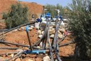 سرقة مياه بقيمة 3 ملايين دينار على طريق المطار