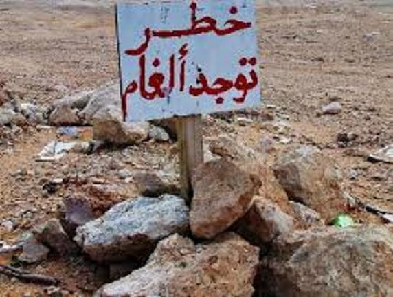 إسرائيل تزيل ألغاماً في المنطقة الحدودية اليوم