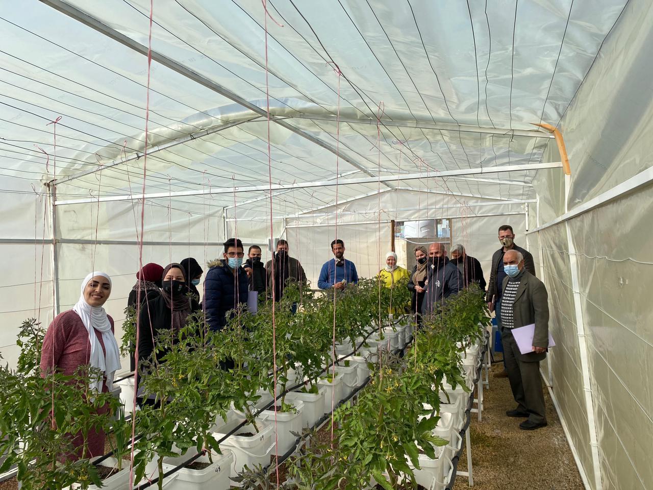 اختتام مشروع تعزيز الأمن الغذائي من خلال أنظمة الزراعة الحضرية في الأردن