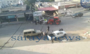 """بالصور  ..  تعقيم """"سوق كفرنجة"""" للخضار و الفواكه و إغلاقه بعد إصابة شخص بكورونا  ..  تفاصيل"""