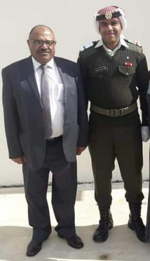 الملازم 2 عبدالله الشعار مبارك التخرج