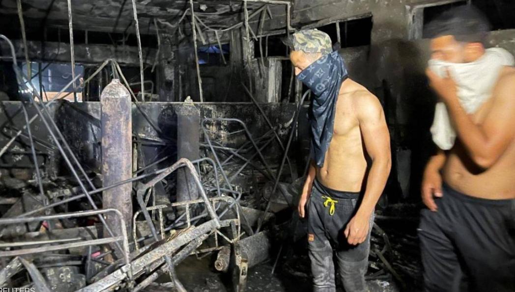 """""""إسطوانات الأكسجين"""" أم الفساد  ..  من المسؤول عن كارثة مستشفى بغداد؟  ..  لقطات من """"الفاجعة"""""""