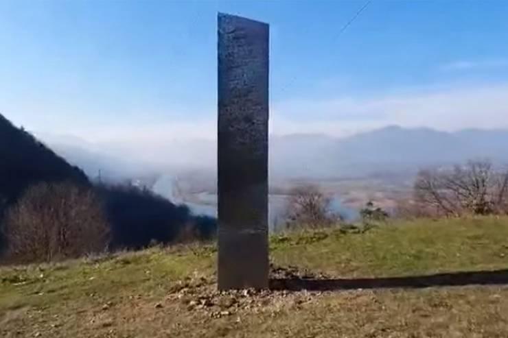 بعد ضجة 'هيكل صحراء يوتا' ..  كتلة غامضة أخرى تظهر في رومانيا!