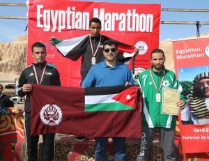 نشامى الدرك يسيطرون على سباقات ماراثون الأقصر الدولي