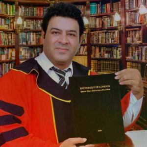 الدكتوراه لأحمد سالم العجارمه