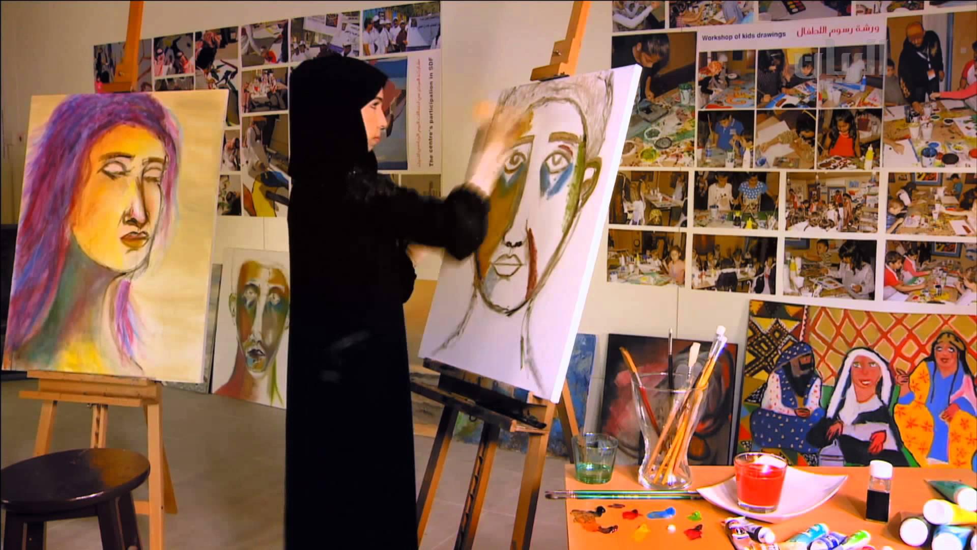 ثقافة إربد تنظم معرضاً للفن التشكيلي