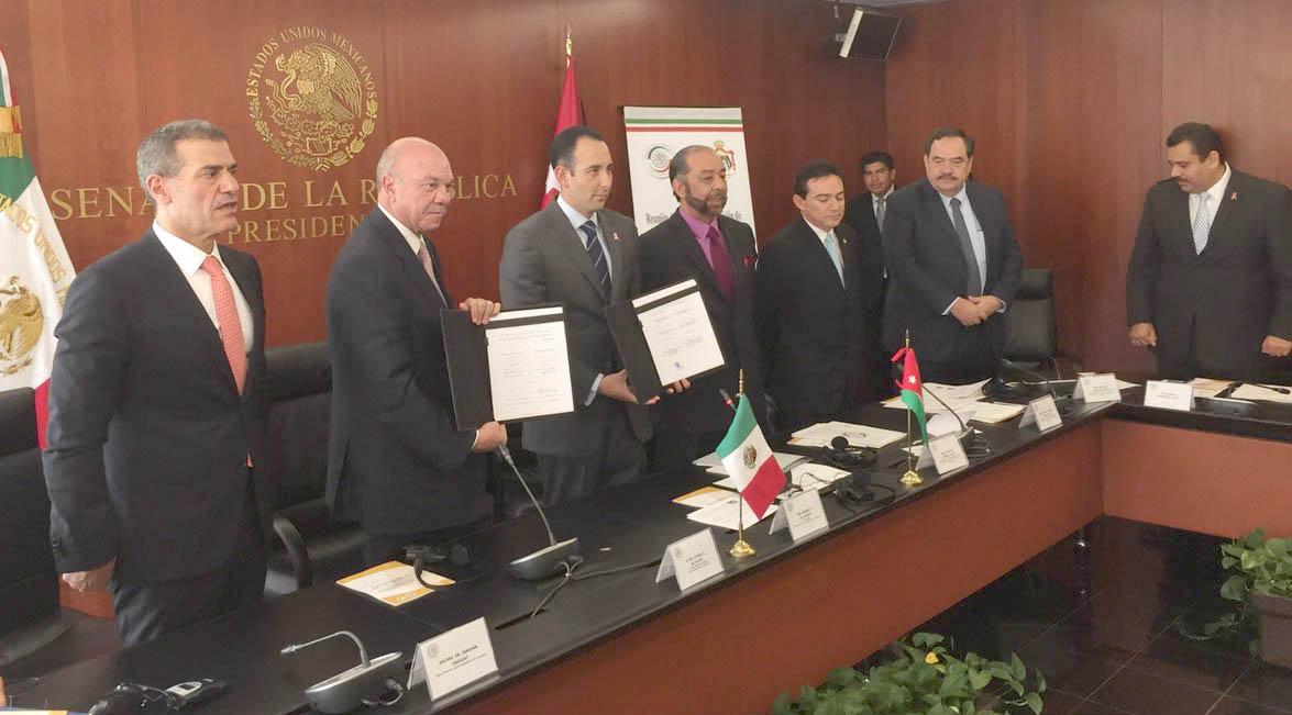 العين الفايز يبحث العلاقات البرلمانية بين الاردن والمكسيك