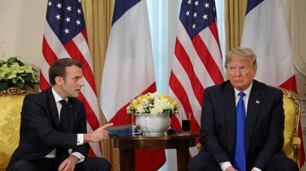 ترامب وماكرون ناقشا إرسال مساعدة فورية إلى لبنان