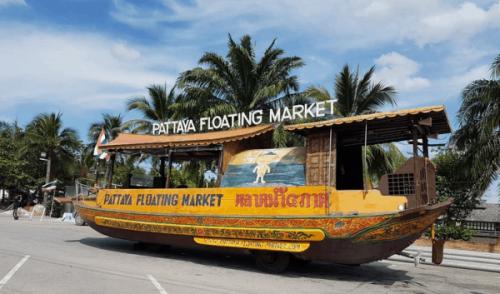 بالصور  ..  أجمل النشاطات السياحية في السوق العائم في بتايا تايلاند