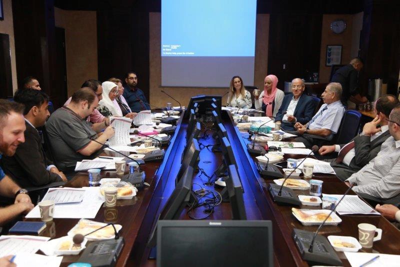 بالصور ..  جامعة البترا تنظم برنامجاً تعريفياً لأعضاء الهيئة التدريسية الجدد