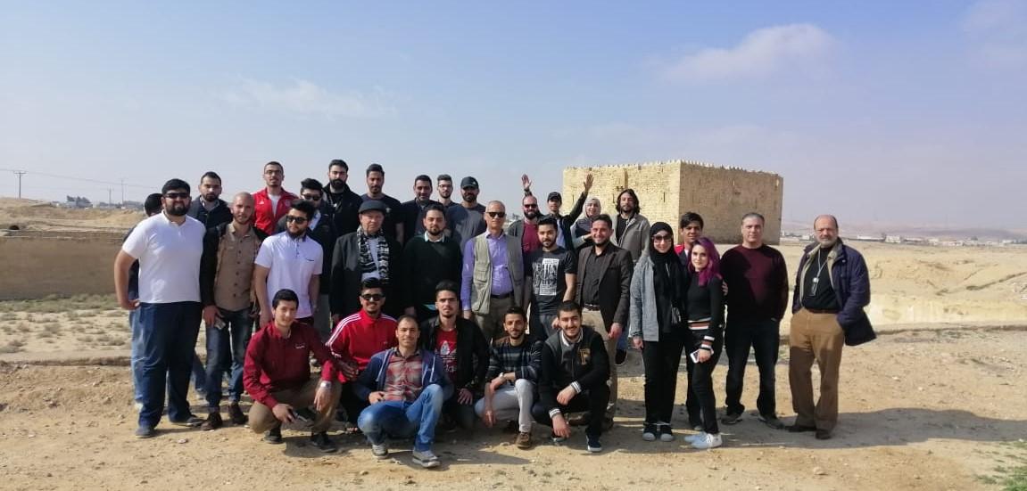 """هندسة """"عمان العربية"""" تنظم رحلة علمية إلى محافظتي العقبة ومعان"""