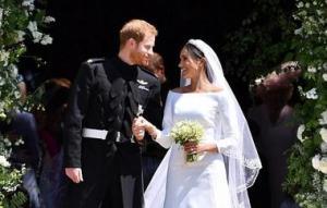 بالصور .. تاج الأميرة ديانا يعود بعد 37 عاماً ..  وفستان ميغان ماركل يعرضها للنقد