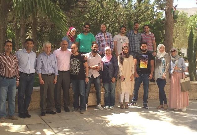 جامعة عمان الأهلية تستضيف أساتذة من جامعة هيريوت وات / أدنبرة