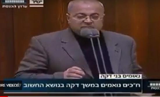 بالفيديو  ..  نائب في الكنيست الإسرائيلي بعد زيارة الأردن : أنا وحداتي ابن مخيمات