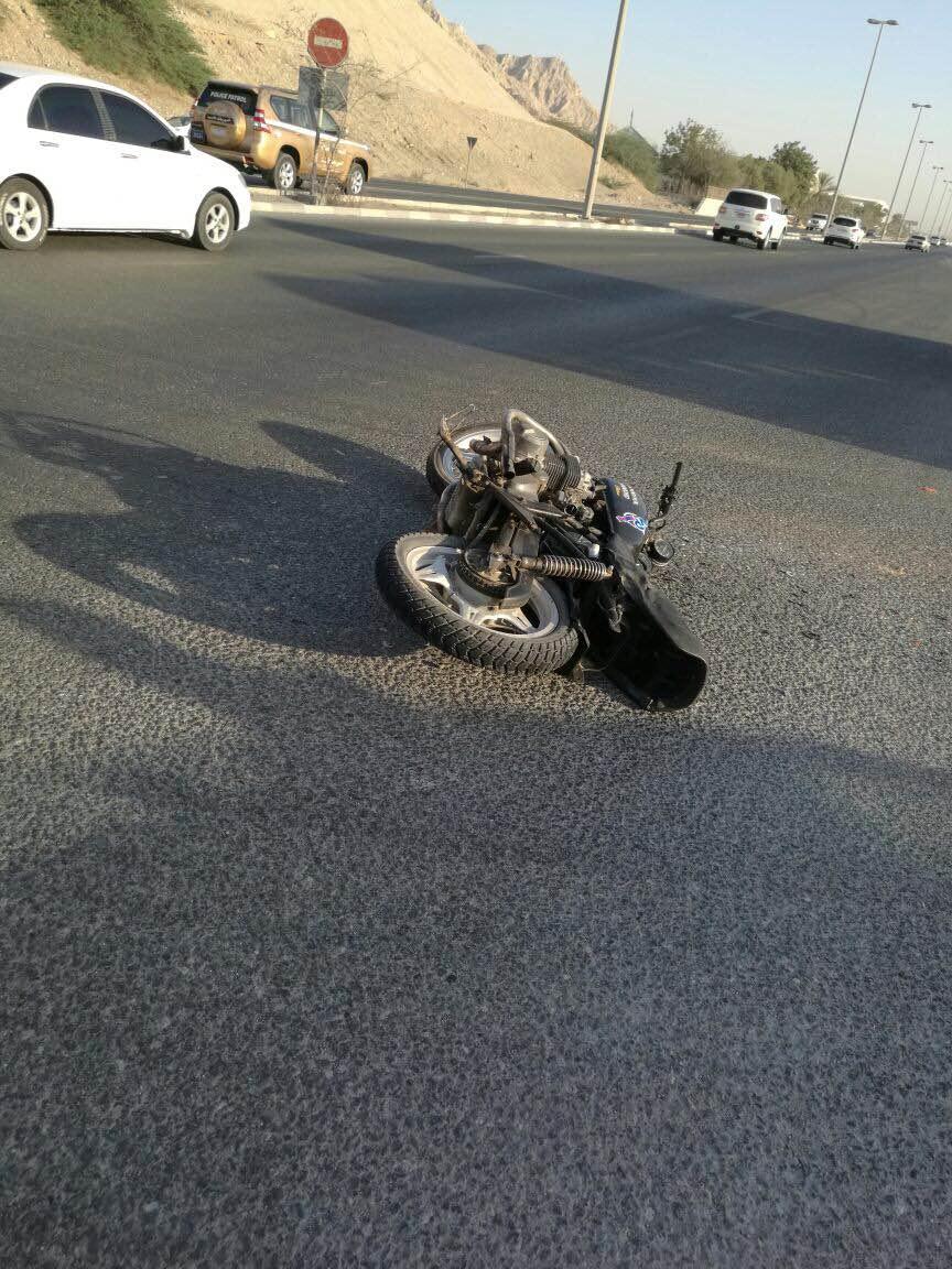 وفاة خمسيني بحادث تدهور دراجة في تل الرمان