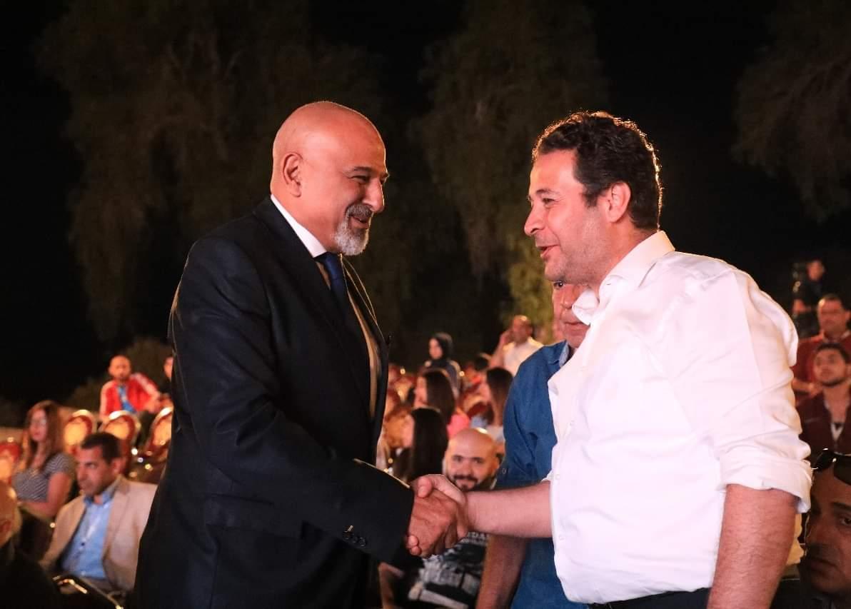 تكريم جمال سليمان وإياد نصار وسلمى المصري وآخرين في مهرجان جرش
