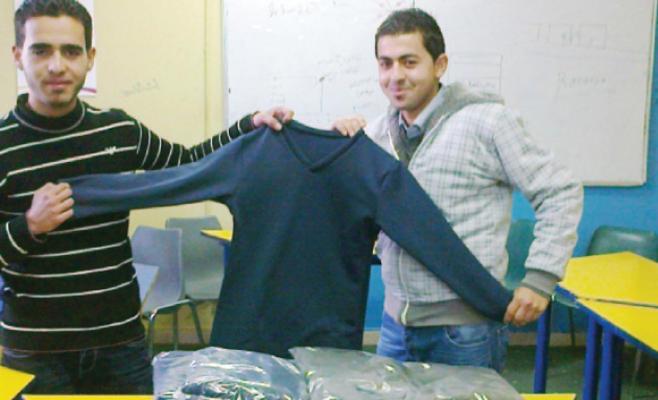طلبة  يؤسسون مشروعا لإنتاج الملابس الحرارية