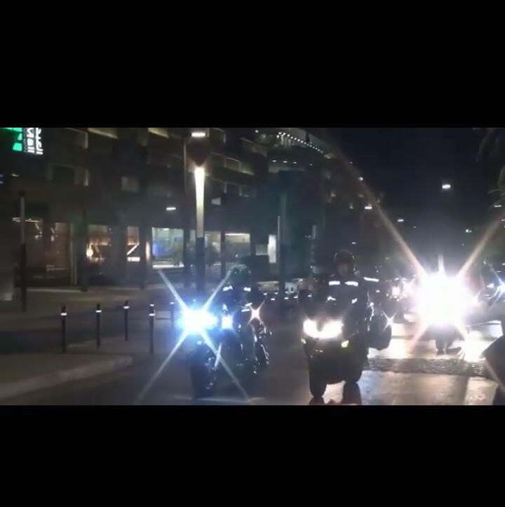 """بالفيديو ..  شاهد موكب مهيب وخيالي لــ""""نجوى كرم"""" في عمان"""