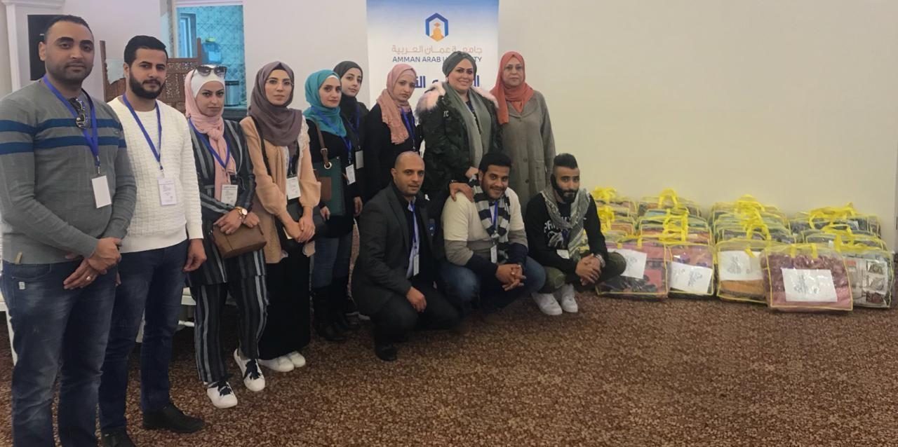 """""""عمان العربية"""" تحتضن إطلاق مبادرة تطوعية لخدمة المجتمع"""