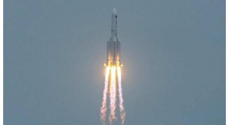 بهذه المواعيد  ..  صاروخ الصين التائه سيمر عدة مرات فوق الوطن العربي
