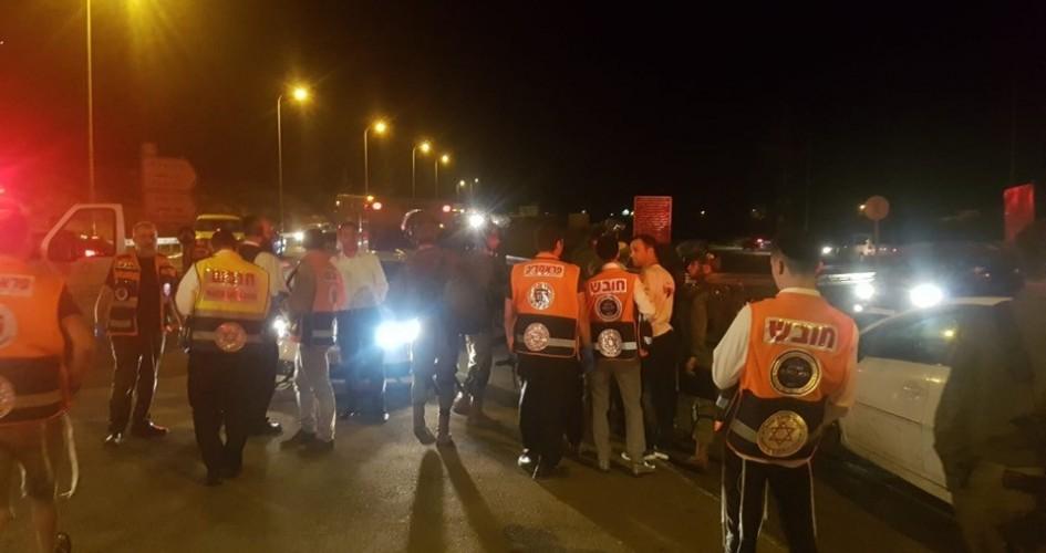 إصابة 3 جنود إسرائيليين في عملية دهس غربي بيت لحم