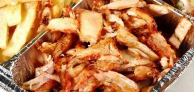 طريقة عمل شاورما الدجاج السورية