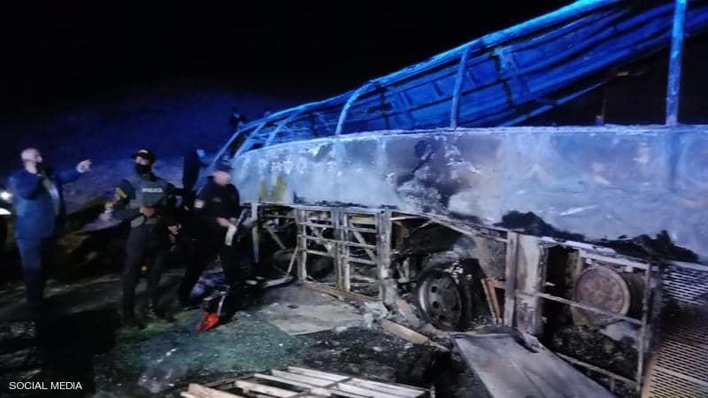 ضحايا بحادث سير مأساوي كبير في مصر