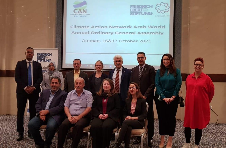 شبكة العمل المناخي في العالم العربي: الانتقال للطاقة المتجددة في المنطقة العربية ضرورة ملحة