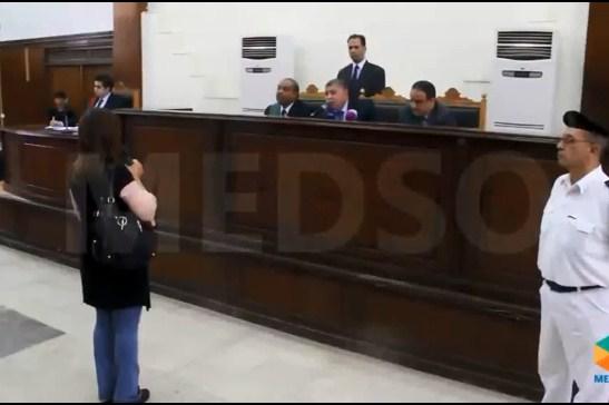"""بالفيديو  ..  مصرية تشهد ضد زوجها  ..  والقاضي: """"مبروك عليه الإعدام"""" !"""