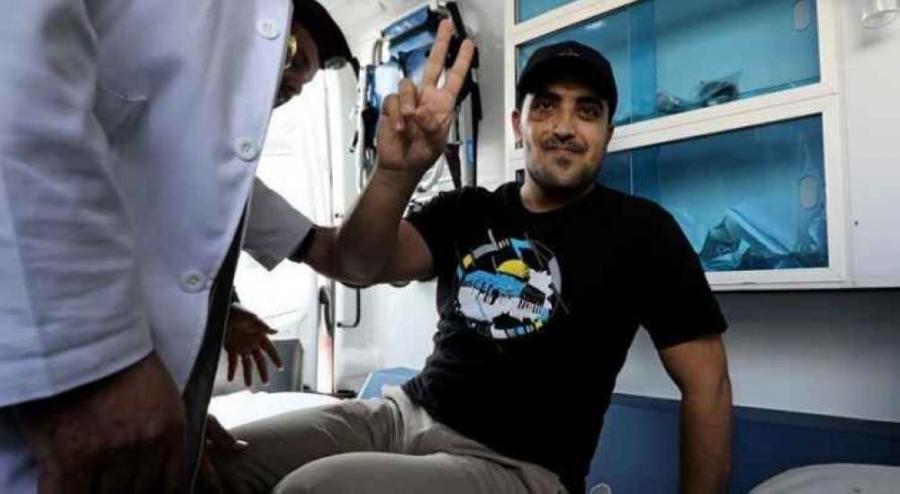 """الأسير المحرر """"عبد الرحمن مرعي"""" يتحدث عن ظروف الاعتقال"""