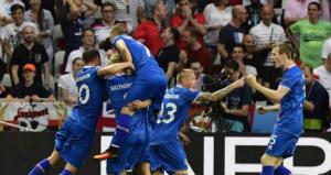 ايسلندا تهزم انجلترا وتتابع مغامرتها ببلوغ ربع النهائي